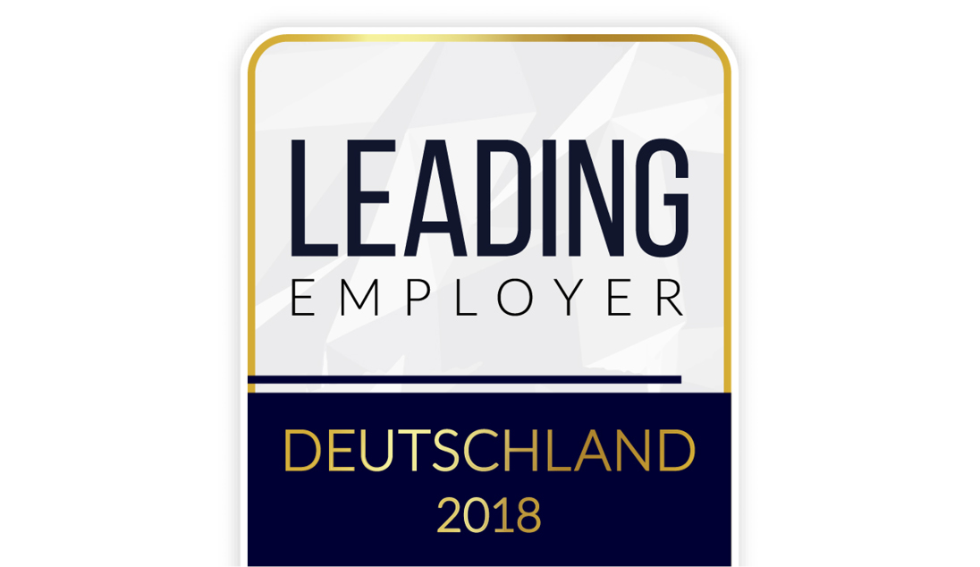 LEADING EMPLOYER Award